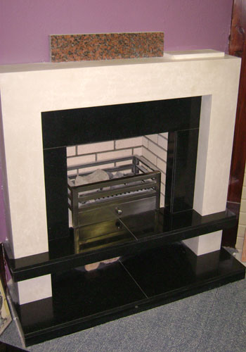 Alton fireplace