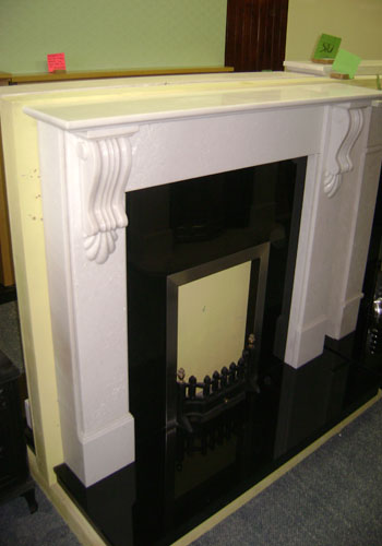 small victorian fireplace